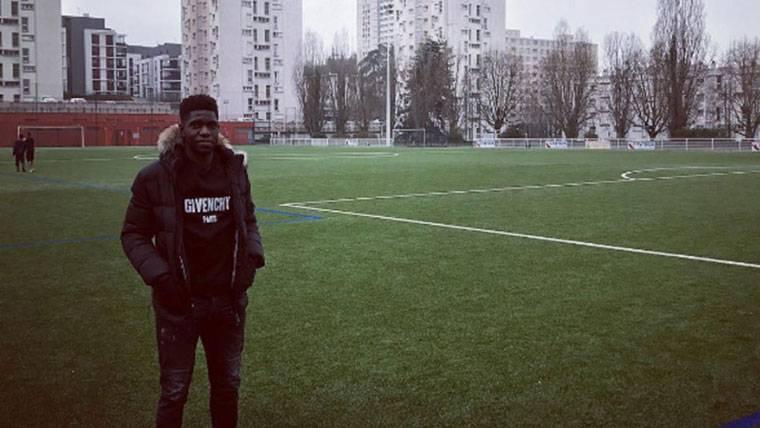 Lección de humildad de Samuel Umtiti en las redes sociales