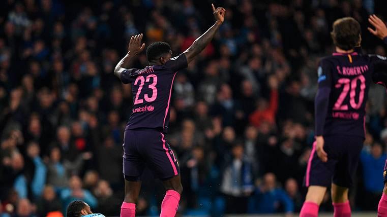 """Samuel Umtiti revela la razón de portar el """"23"""" con el Barça"""