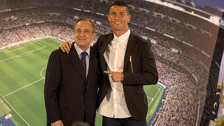 Cristiano espera que Florentino Pérez dé un paso adelante