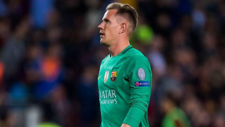Exhibición bajo palos de un Ter Stegen crucial para el Barça