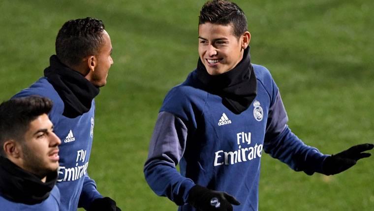 El traspaso de James del Real Madrid, cada vez más cerca