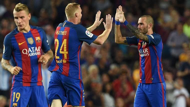 Mathieu habría rescindido su contrato con el FC Barcelona