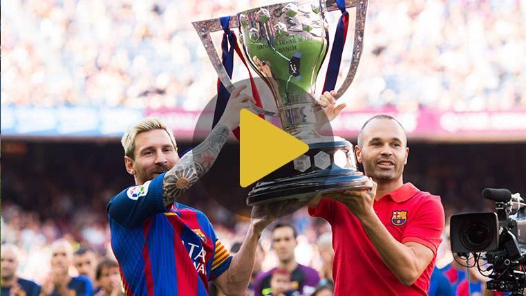 """Iniesta: """"Messi es imprescindible para seguir ganando"""""""