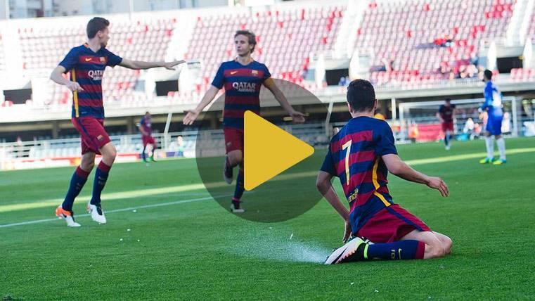 El Barcelona B vuelve otra vez a Segunda División