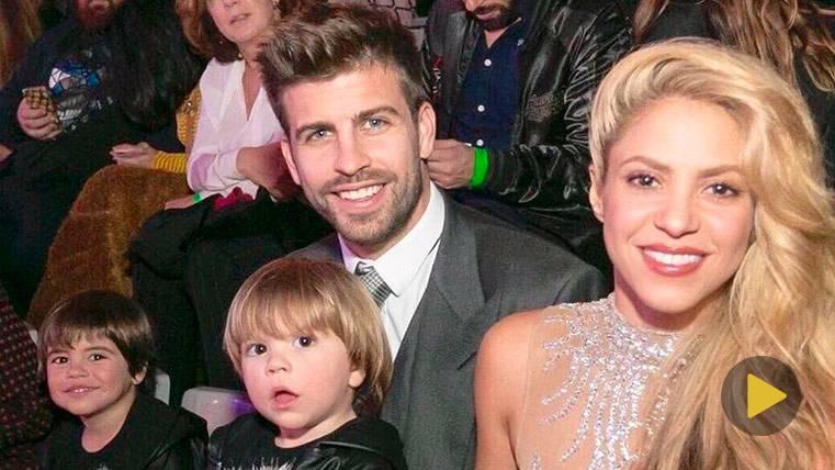 Gerard Piqué, Shakira y la Nochevieja más familiar del culé