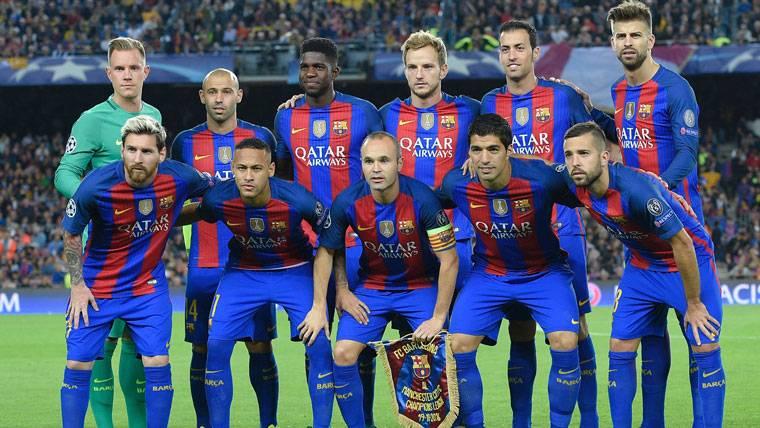 Cuatro jugadores del Barça, en el once ideal de la FIFPro
