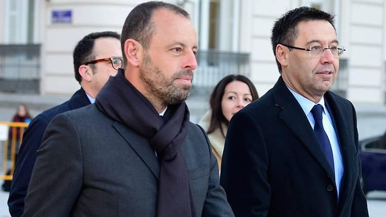 Filtraron las declaraciones de Sandro Rosell y Josep Maria Bartomeu sobre el Caso Neymar