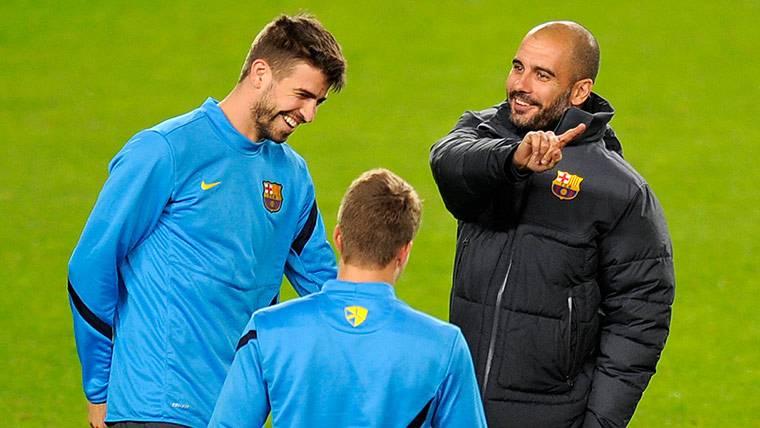 Alfonso ataca duramente a Gerard Piqué y a Pep Guardiola