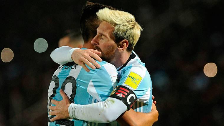 """Maradona: """"En 56 años no vi a nadie hacer lo que hace Messi"""""""