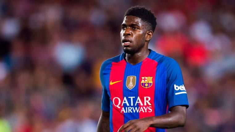 La defensa francesa del Barça volvió ante el CD Leganés
