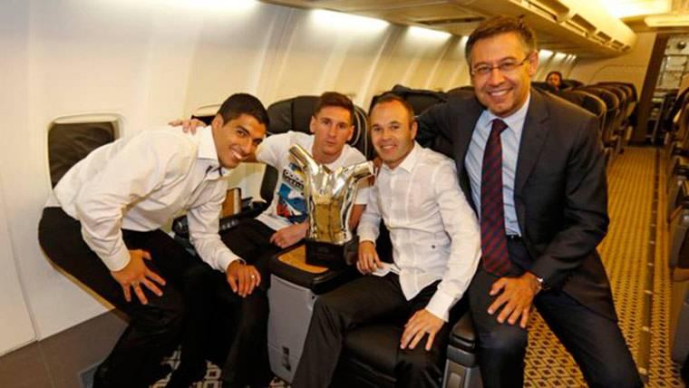 Luis Suárez y Leo Messi, Andrés Iniesta no viajarán a Zurich