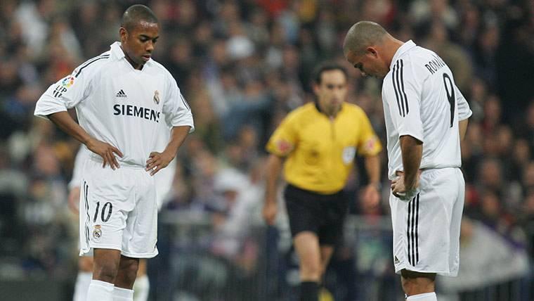 Robinho y Ronaldo acusados de llegar borrachos a los entrenamientos con el Real Madrid