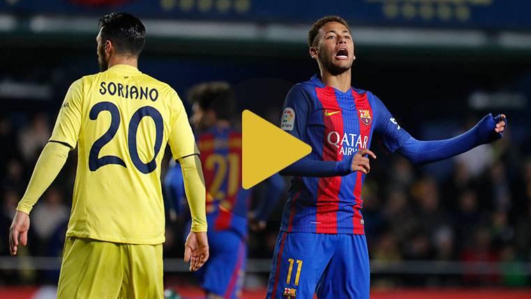 Vídeo resumen: Villarreal 1 FC Barcelona 1 (LaLiga J17)