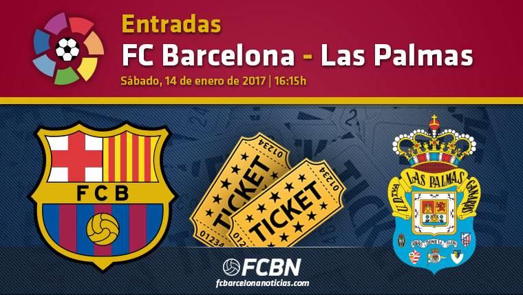 Entradas FC Barcelona vs Las Palmas