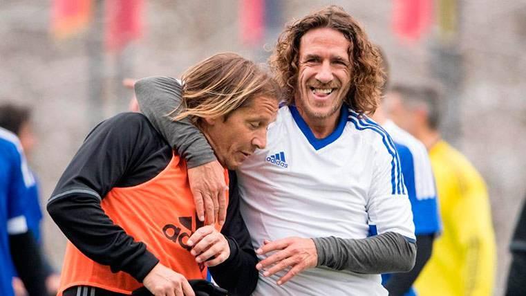 Carles Puyol también defiende a ultranza el videoarbitraje