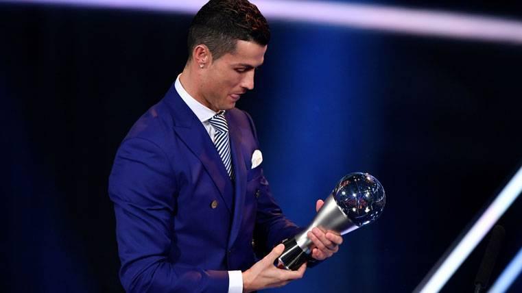 Cristiano Ronaldo, sin creerse haber ganado el FIFA The Best