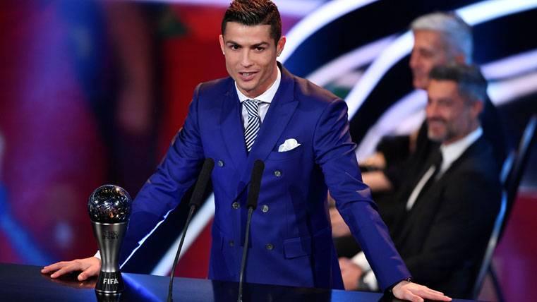 ¡Cristiano se acordó de Messi y del Barça en el The Best!