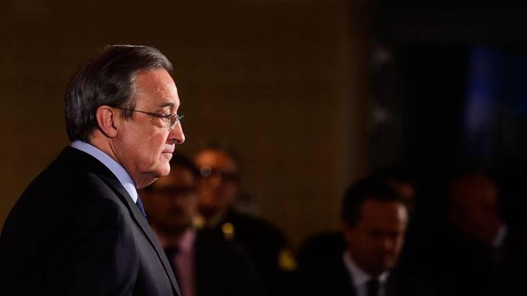 Florentino Pérez, durante un acto con el Real Madrid en una imagen de archivo