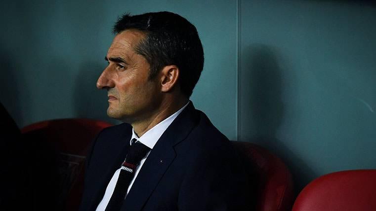 Ernesto Valverde no tiene miedo al Barça ni a los árbitros