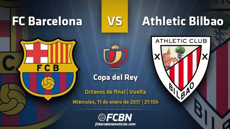 La previa del partido: FC Barcelona vs Athletic Club de Bilbao de Copa del Rey 2016/17