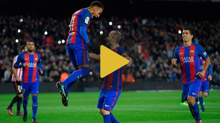 Vídeo resumen: FC Barcelona 3 Athletic 1 (Vuelta 1/8 Copa)