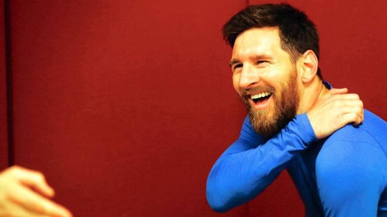 CRACK: El mensaje de Leo Messi tras la goleada al Athletic