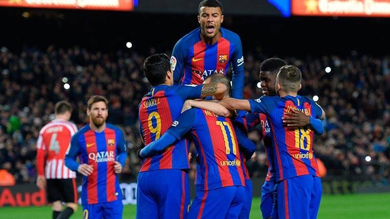 De la unión de la MSN a la sonrisa del capitán, así celebró el Barça