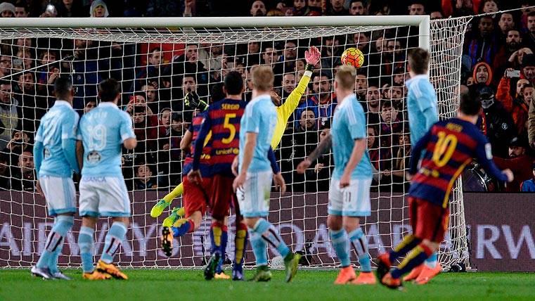"""El """"maestro"""" de Leo Messi para los lanzamientos de falta"""