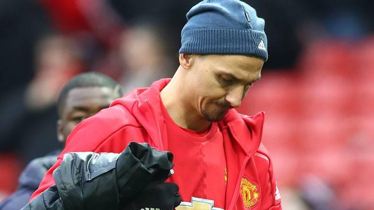 """Enésima """"sobrada"""" de Ibrahimovic con el Manchester United"""
