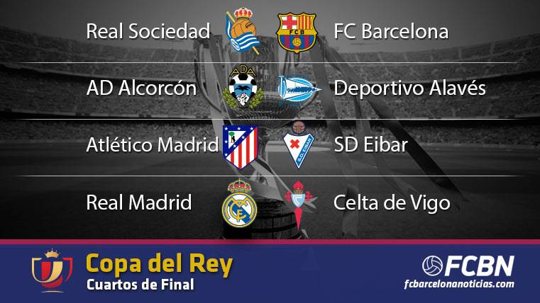 Estas son las eliminatorias de cuartos de final de la Copa del Rey ...