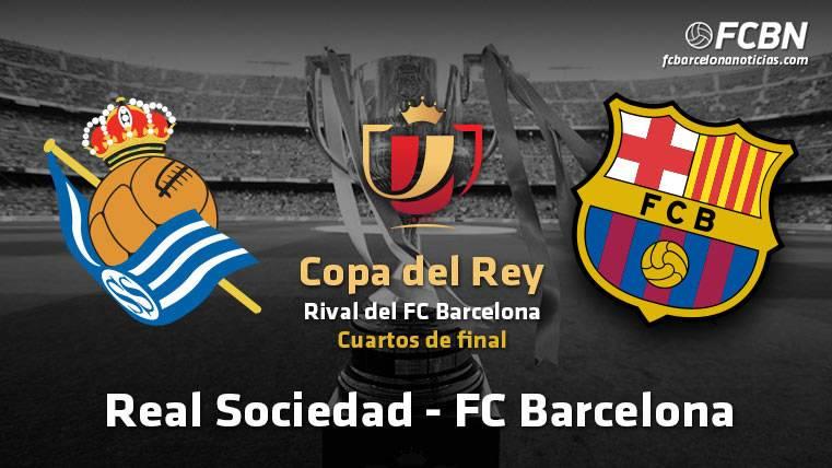 El FC Barcelona se enfrentará a la Real Sociedad en cuartos de Copa ...