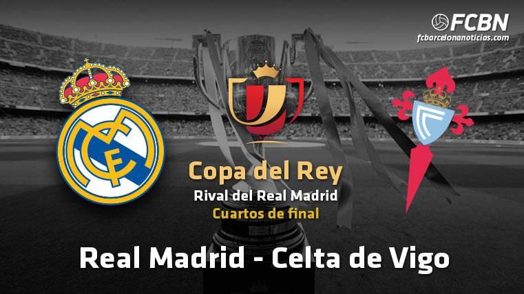 El Real Madrid se enfrentará al Celta en los cuartos de Copa