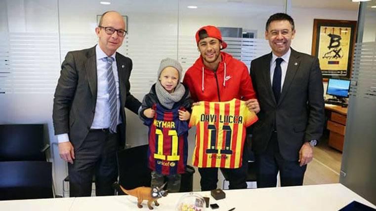 El hijo de Neymar Júnior también ficha por el FC Barcelona