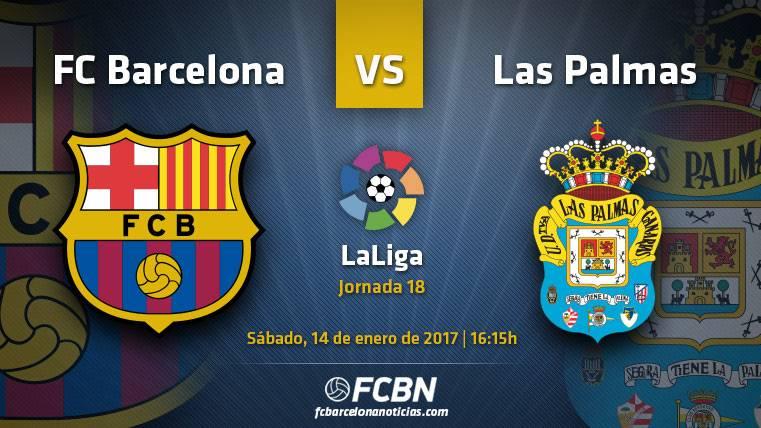 Barça-Las Palmas: Dos equipos, un estilo y 3 puntos cruciales