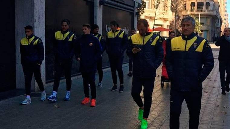 """Un jugador del Barça, """"infiltrado"""" entre la UD Las Palmas"""