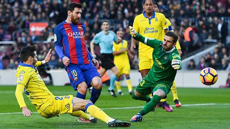 Las Palmas, uno más para la colección particular de Messi