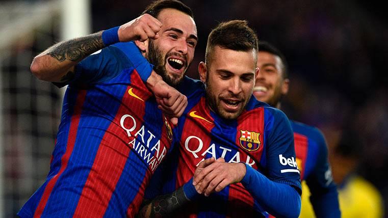 El gol imposible: Alcácer asistió, Aleix Vidal anotó