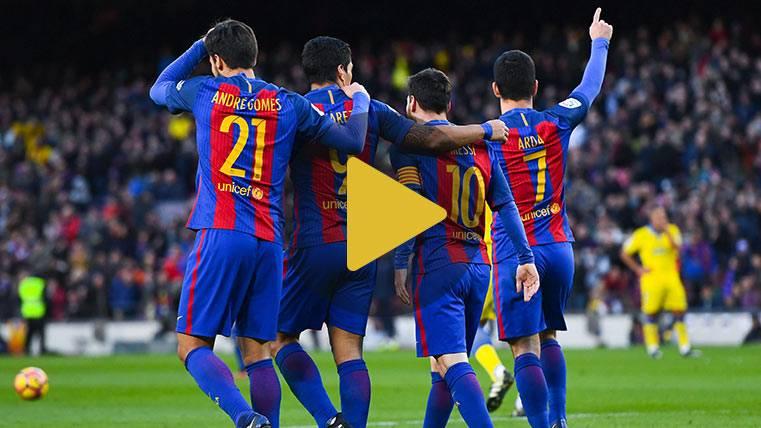 Vídeo resumen: FC Barcelona 5 Las Palmas 0 (LaLiga J18)