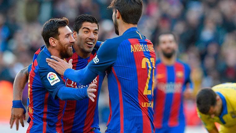 """El """"Pichichi"""" de LaLiga es cosa de dos (culés): Suárez y Messi"""