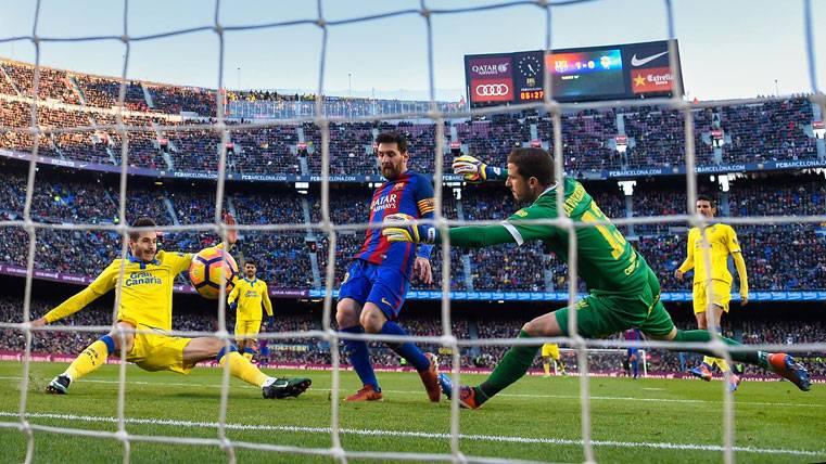 La goleada del Barça ya presiona a Real Madrid y Sevilla