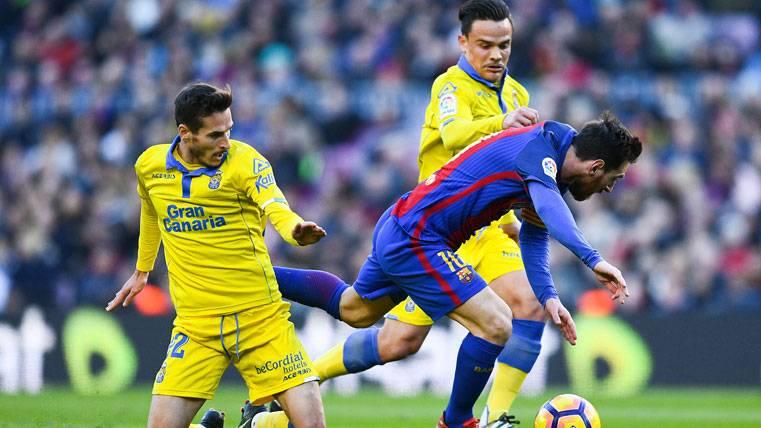La impresionante jugada de Messi que no acabó en gol