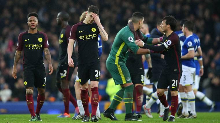 El Manchester City, humillado y fuera de los puestos Champions