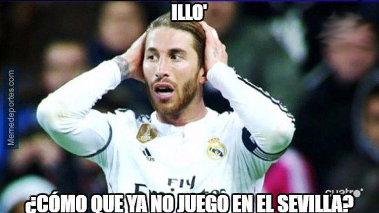 """Estos son los mejores """"memes"""" del golazo de Ramos"""