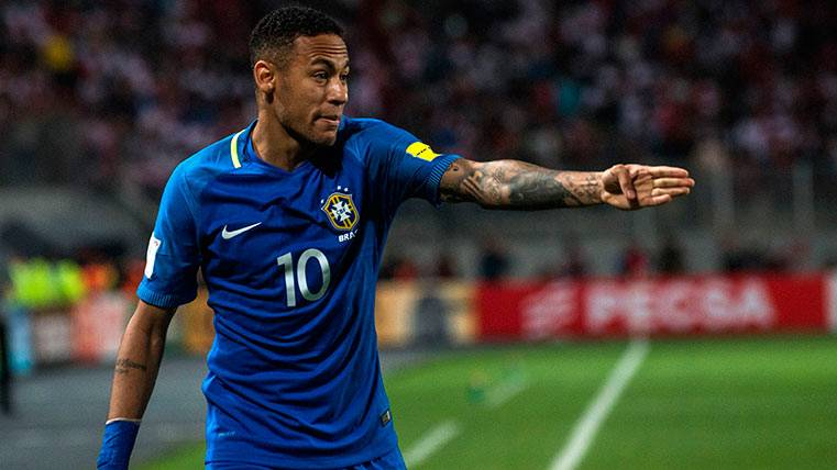 Neymar se ve capacitado para volver a ser el capitán de Brasil