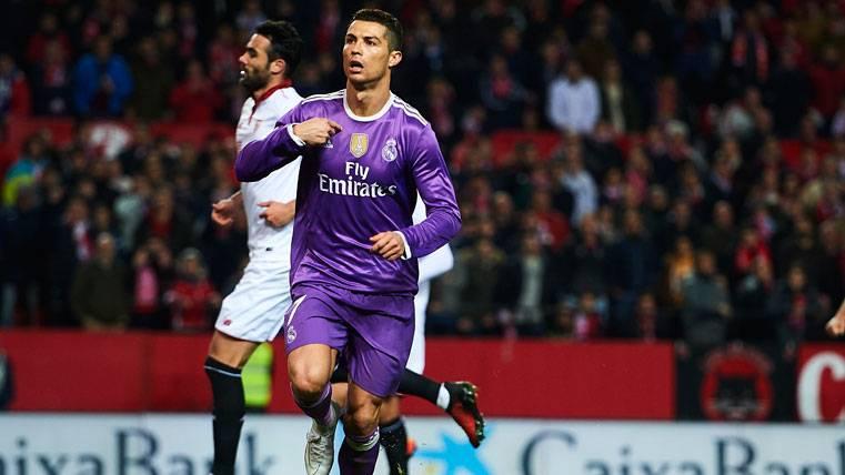 RIDÍCULO: Así celebró Cristiano el gol de penalti en Sevilla