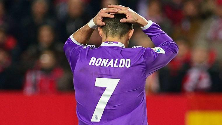 ¡Cristiano explotó contra Ramos tras el 2-1 del Sevilla!
