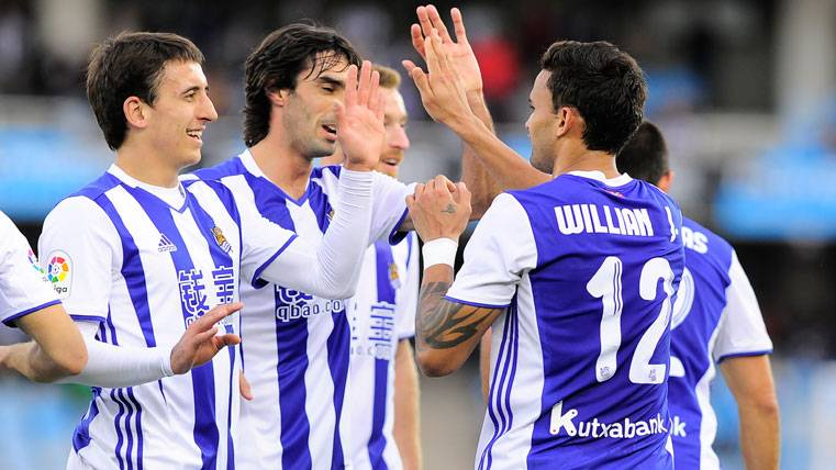 The Real Sociedad will arrive with confidence against the Barça