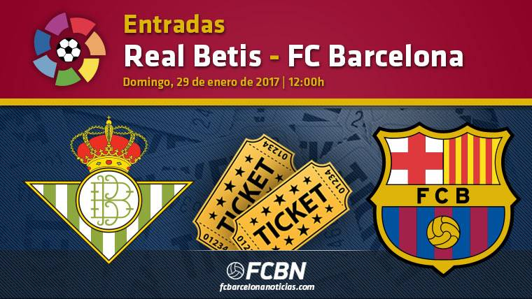Entradas Betis vs FC Barcelona