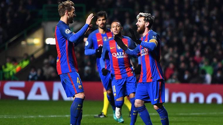 """Rakitic reveló el secreto de la magia de la """"MSN"""" del Barça"""