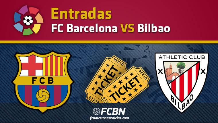 Entradas FC Barcelona contra Athletic Bilbao